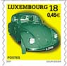 Luxembourg Post VW Beetle - commemorative stamp