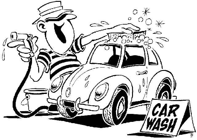 free cartoon car wash clipart - photo #23