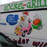 A chicken-grill sales car.