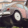 A mosaic VW Beetle - outside a mosaic store in Liechtenstein